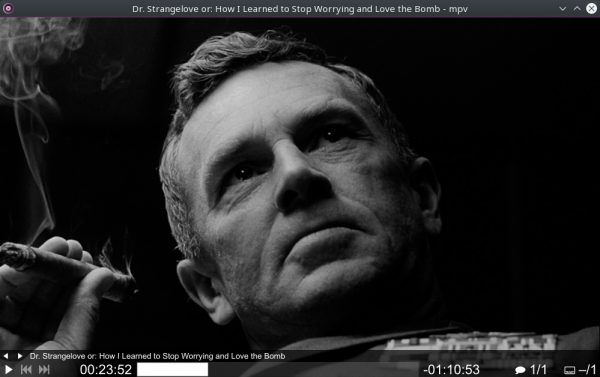 MPV Media Player for Windows 10
