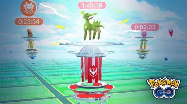 Raid Gyms