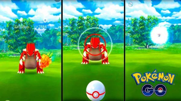 Pokemon Go Raid Boss Groudon