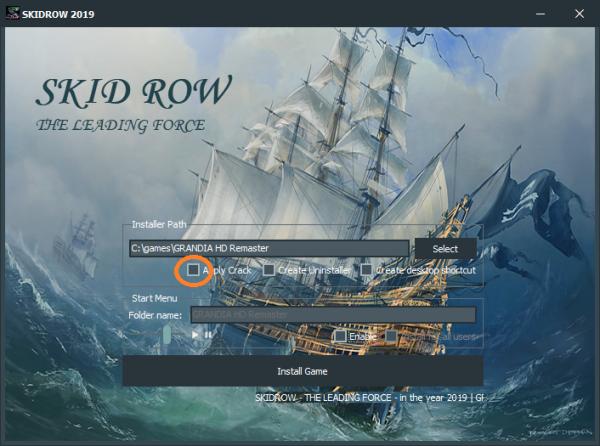 Skidrow Games Setup
