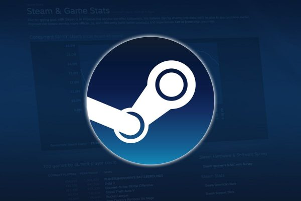 The official Steam logo.