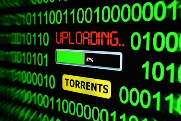Uploading documents with torrents
