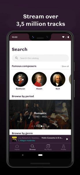 Primephonic iOS