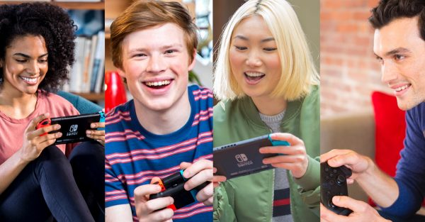 play the switch with friends