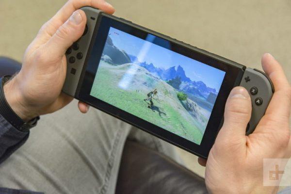 playing on handheld mode