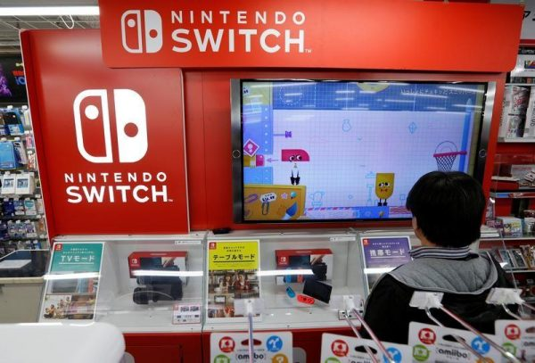 nintendo switch in stores