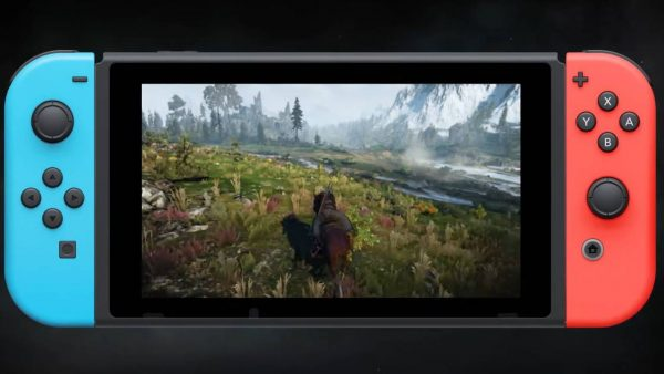 playing witcher 3