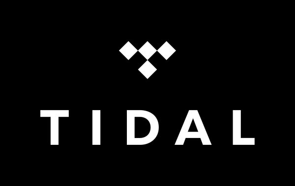 tidal music logo in black