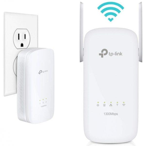 Un routeur WiFi TP-Link blanc