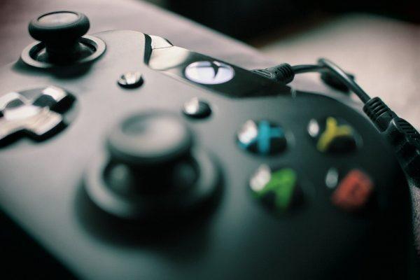xbox controller closeup