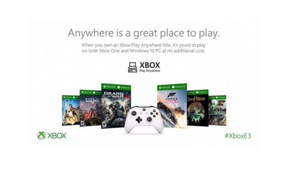 play anywhere allows you to download xbox games on pc and vice versa