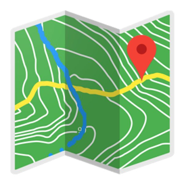 The official logo of the BackCountry Navigator app.