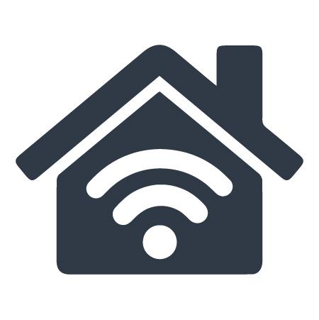 Acrylic Home Wifi icon