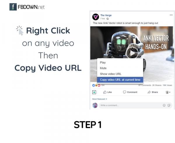 Fbdown download facebook videos