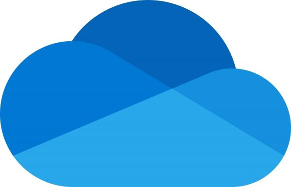 The official OneDrive logo. Used as an added aesthetic for the information on the article regarding how to download photos from iCloud.