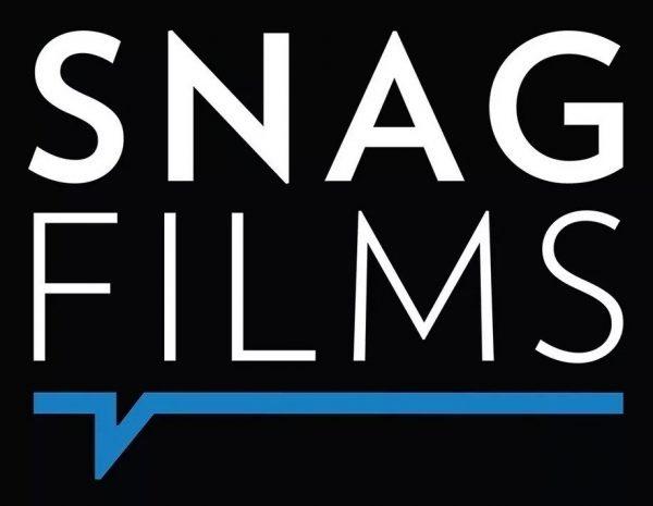The logo for the SnagFilms streaming app.