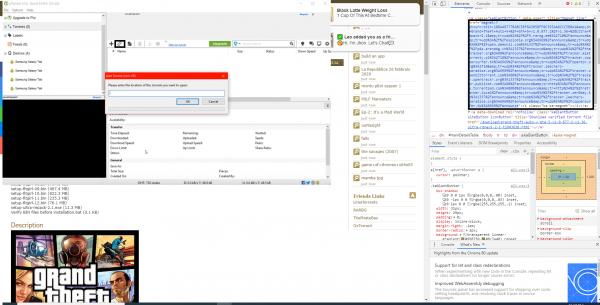 downloading from Utorrent