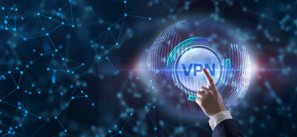Business, Technology, Internet and network concept. VPN