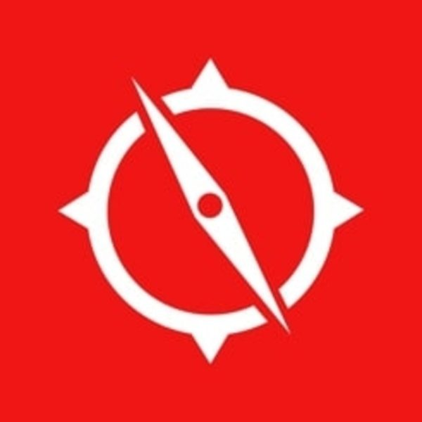 The official logo of the VZ Navigator app.