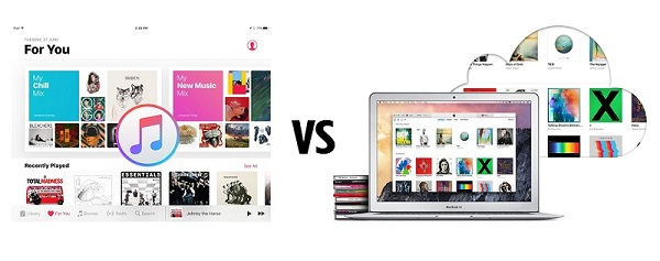 Apple Music & iTunes Match: The Difference