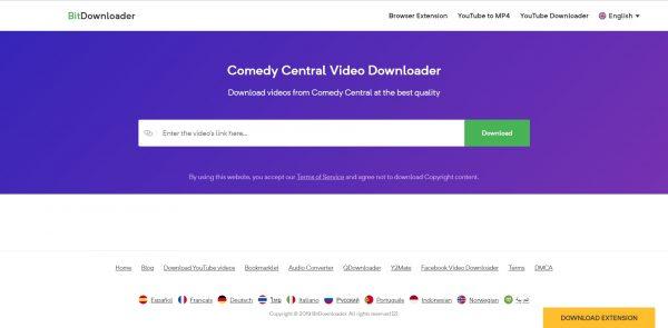 comedy central video downloader