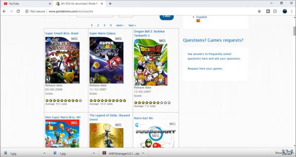 best free wii games download site