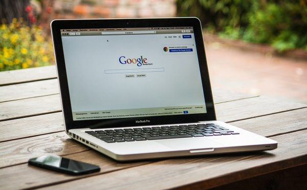google on screen