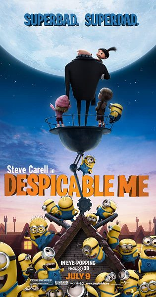 Despicable Me, released in 2010.