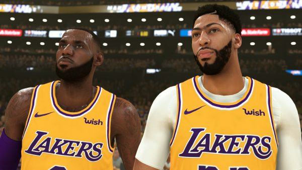 NBA2K20, one of the many games playable on Google Stadia.