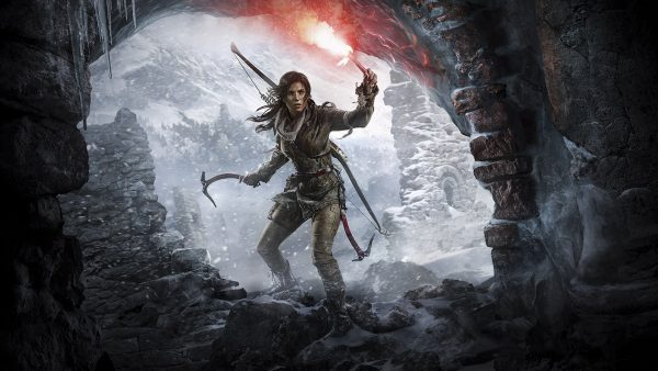 Rise of the Tomb Raider, one of the many games playable on Google Stadia.