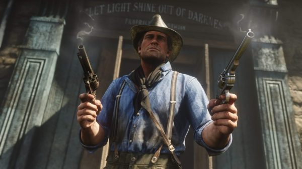 Red Dead Redemption 2, one of the many games playable on Google Stadia.