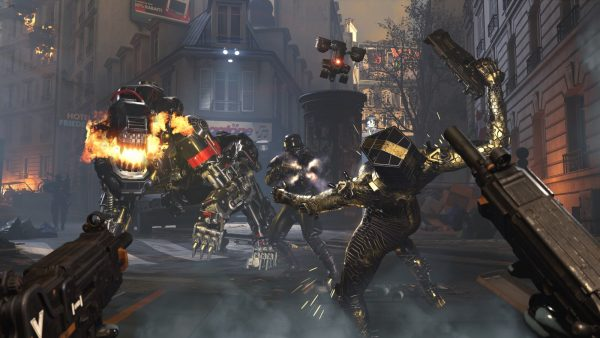 Wolfenstein: Youngblood, one of the many games playable on Google Stadia.