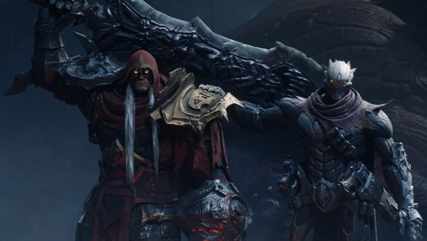 Darksiders Genesis, one of the many games playable on Google Stadia.