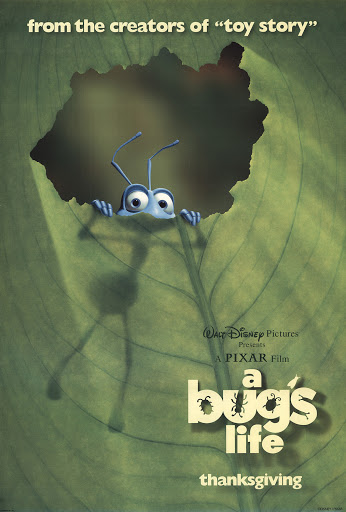 A Bug's Life, released in 1998.