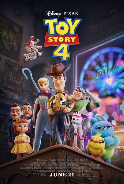 Toy Story 4, released in 2019.