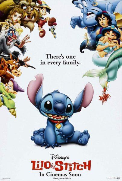 Lilo & Stitch, released in 2002.