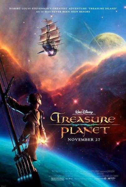 Treasure Planet, released in 2002.