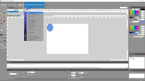 Vectorian Giotto, a flash software that can be used with making flash media.