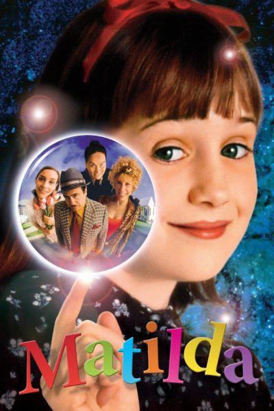 Best kids movie: Matilda, released in 1996.