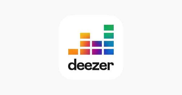 Deezer, an app for streaming Android music.