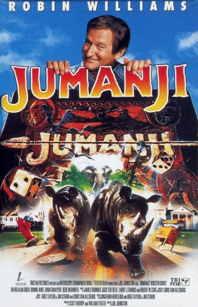Best Kids Movie: Jumanji, released in 1995.