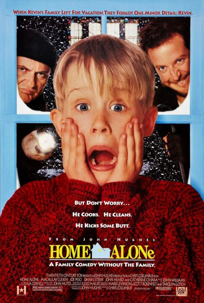 Home Alone, released in 1990.