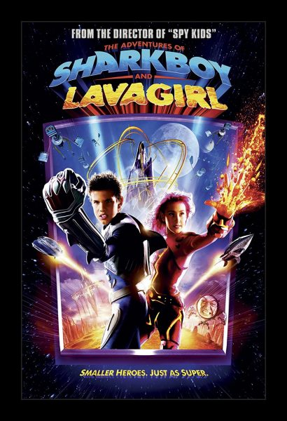 The Adventures of Sharkboy and Lavagirl, released in 2005.