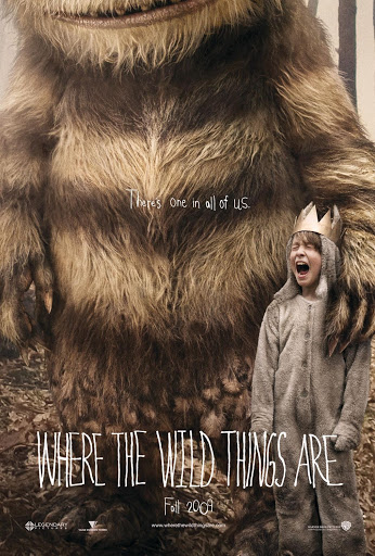 Where the Wild Things Are, released in 2009.