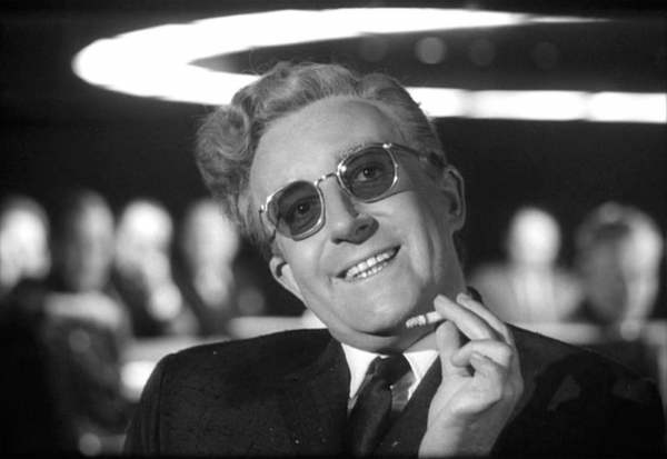 Dr. Strangelove in a comedy classic of crackle movies