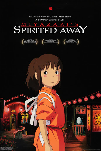 Spirited Away, released in 2001.