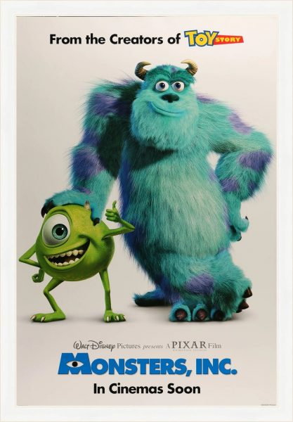 Monsters Inc., released in 2001.