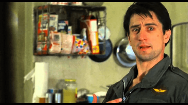Robert de Niro's iconic scene from Taxi Driver from crackle