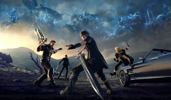 Final Fantasy XV, one of the many games playable on Google Stadia.