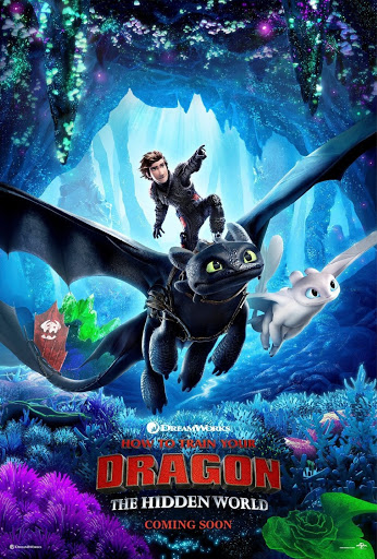 How to Train Your Dragon 3, released in 2019.